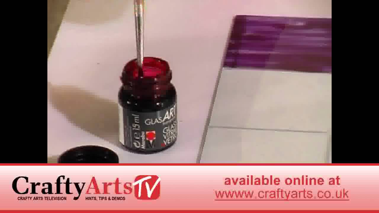 How to make a Stained Glass Picture Frame - YouTube