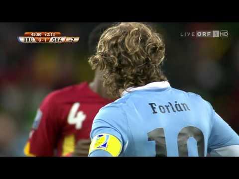 But de Sulley Muntari Uruguay  Ghana Coupe du Monde 2010