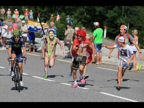 Funny and Fail CYCLING  Moment 2010 - 2015 - Tour de France Paris Giro D'Italia Eneco Wallone Part.1