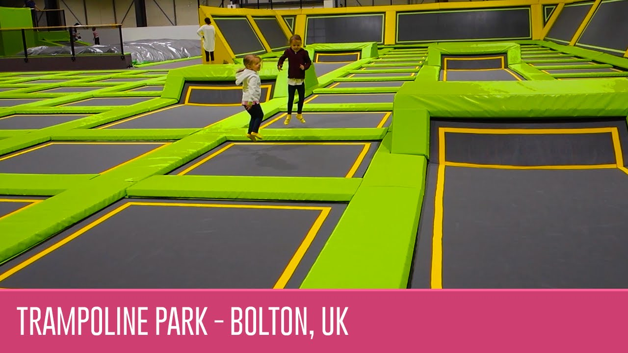 Jump Xtreme Indoor Trampoline Park In Bolton North West Uk Youtube