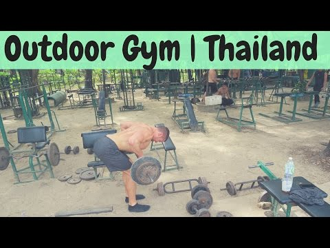 Lumpini Park Outdoor Gym 💪🏼 | ✈️ Chiang Mai