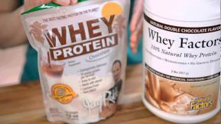 Jay Robb Vs. Whey Factors Protein Powder Reviewed