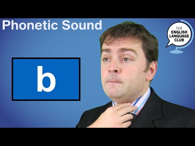 The /b/ Sound