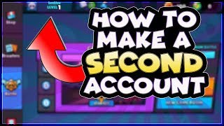 How to make a second account in Brawl Stars | BIG ANNOUNCEMENT