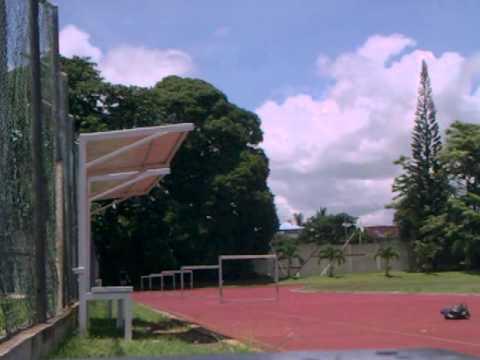 60m hurdles training