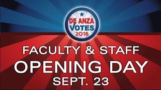 DEANZACOLLEGE #voteIRL #RocktheVote De Anza is committed to providi...