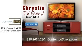 Chrystie Tv Stand Entertainment Console | Item #: 15554