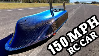 World's Strongest RC CAR Sounds Like Fighter Jet On Florida Highway!