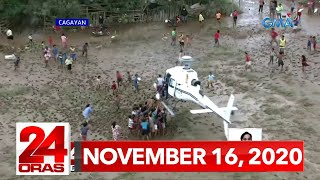 24 Oras Express: November 16, 2020 [HD]