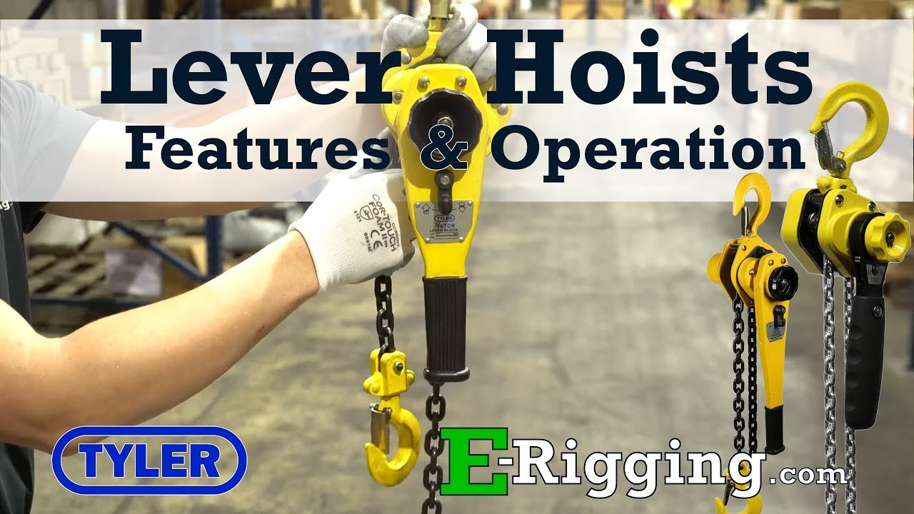 1 5 ton X 10 Foot Lift, Tyler Tool Lever Chain Hoist