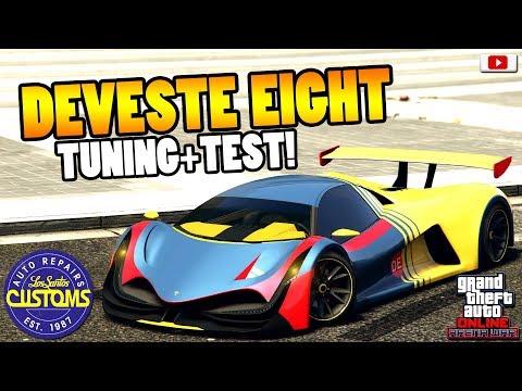 🤑🛠Das Neue 5000 PS Monster DEVESTE EIGHT Tuning+Test!🤑🛠[GTA 5 Online Arena War Update DLC] thumbnail