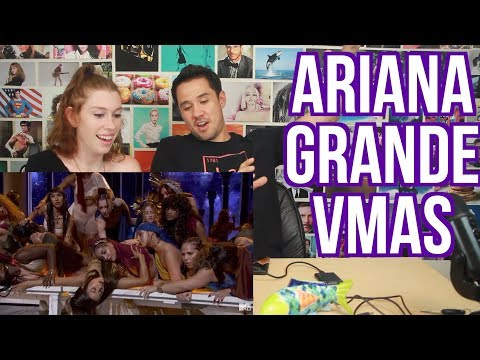ARIANA GRANDE - God is a  Woman - MTV VMAS - REACTION