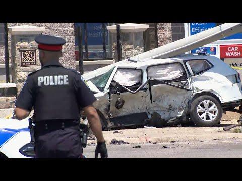 Horrific crash in Brampton, Ontario kills mom and three kids