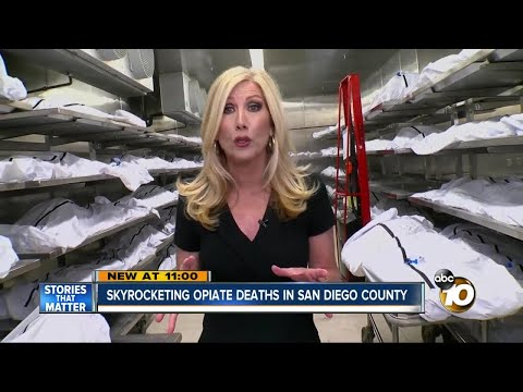 Drug deaths on the rise in San Diego