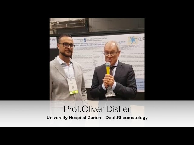 Prof. Oliver Distler Interviewed on Anti-U1RNP Antibodies: A EUSTAR Analysis