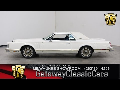 1979 Lincoln Continental Now Featured In Our Milwaukee Showroom #201-MWK