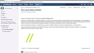Seiten erstellen - Atlassian Confluence lernen Video #3