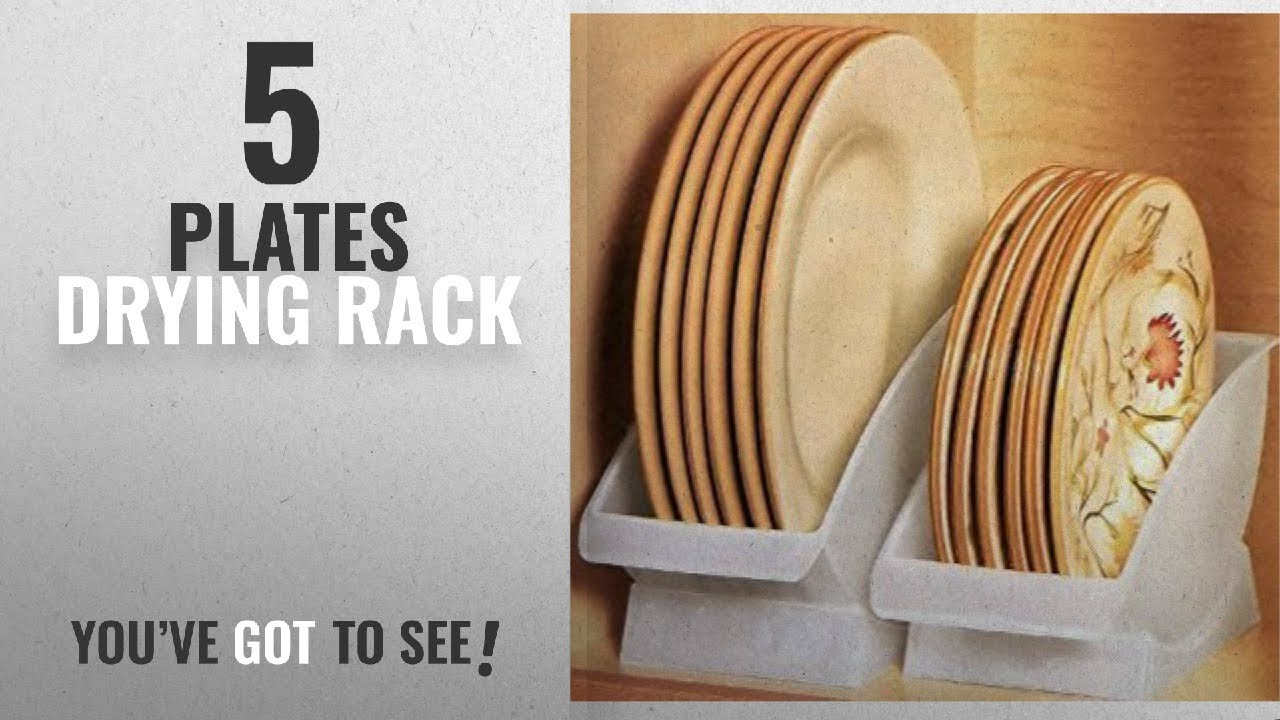 Best Plates Drying Rack [2018] DINNER PLATE CRADLE BY JUMBL & Best Plates Drying Rack [2018]: DINNER PLATE CRADLE BY JUMBL - YouTube