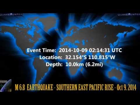 M 7.0  EARTHQUAKE - SOUTHERN EAST PACIFIC RISE - Oct 9. 2014