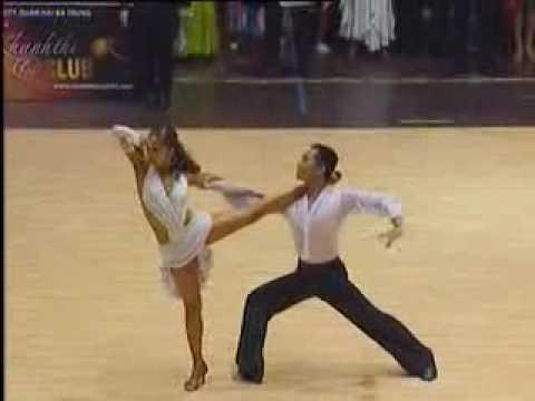 Dance sport champion