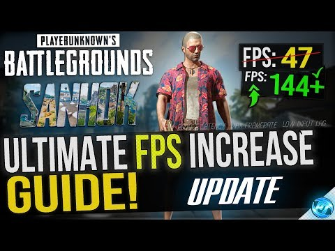 🔧 BATTLEGROUNDS: SANHOK UPDATE! Dramatically increase performance / FPS with any setup!