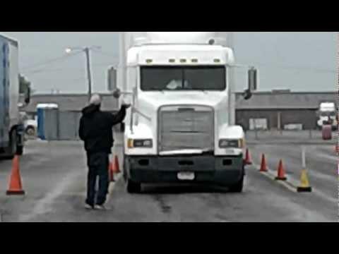 CDL Offset Parking Blind Side