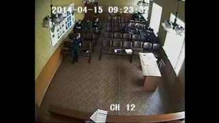 Драка в отделе полиции №3 Воронеж