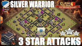 Clash of Clans - TH9 3 Star Low Hero GoLavaLo Win #122 - Clan Wars