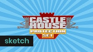 Castle House Protection Set | Klokko | Het Klokhuis
