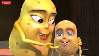 potato song   telugu rhymes for children   infobells