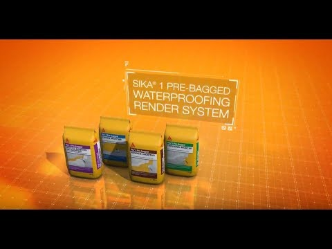 Sika®- 1 Pre-Bagged Waterproofing System