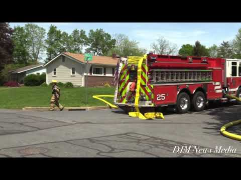 5-2-2021 900 block of Thornton Dr, Upper Allen Township, Cumberland County PA, House Fire