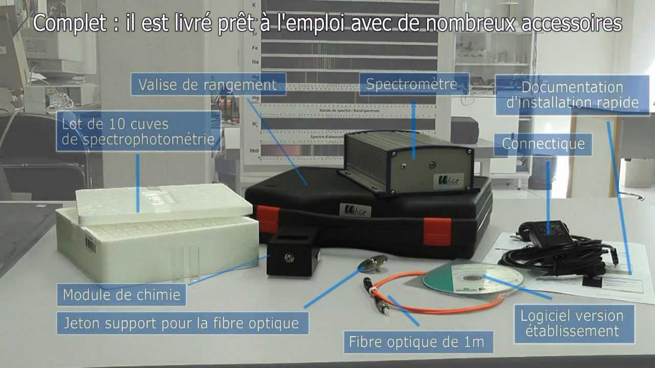 spectrometre a fibre optique