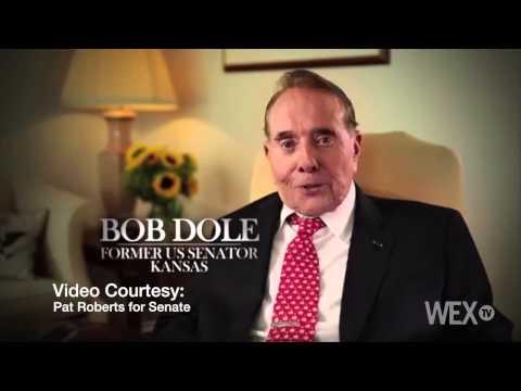 Sen. Pat Roberts calls on former Kansas Sen. Bob Dole