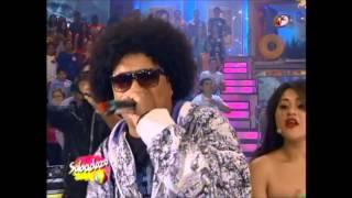 big metra el Rapero mas Rapido del mundo en sabadazo 6 de julio 2013