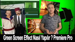 Green Screen Efektli Video Nasıl Yapılır?  Yeşil Perde (Chromakey)