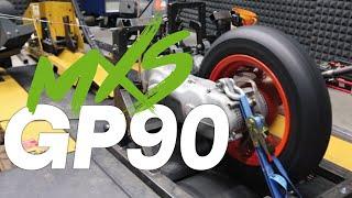 MXS GP90 Prüfstand Action! Motor abstimmen auf dem Prüfstand