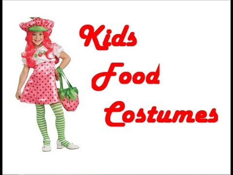 Kids Food Costumes  sc 1 st  YouTube & Kids Food Costumes - YouTube
