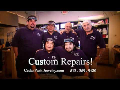 Jewelry Repair, Watch Repair, Custom Jewelry - Cedar Park Jewelry 512.259.9430