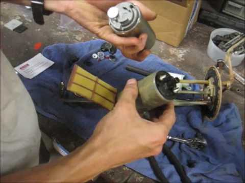 How to Replace the Fuel Pump in an 85-95 EFI Pickup or 4Runner - YouTube