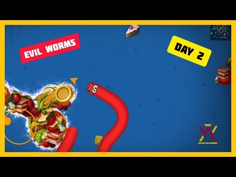 Day 2 Playing Worms Zone Android Games   Arkaan The Wanderer  