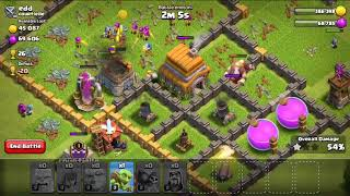 Clash of clans attack for unlimited loot