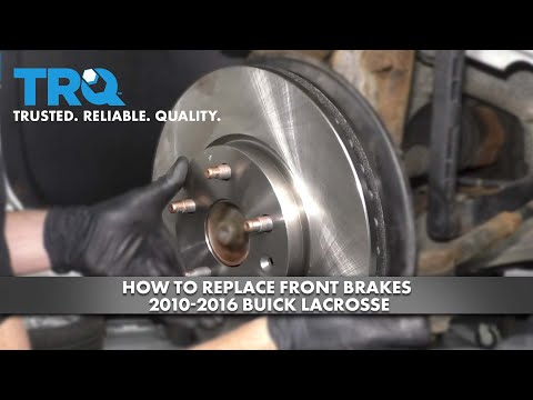 How to Replace Front Brakes 2010-16 Buick LaCrosse