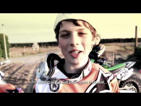 Kawasaki vs KTM: Young factory riders battle in Boekel, the Netherlands