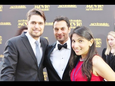 Movieguide Awards 2015: Red Carpet Diogo Morgado & Darwin Shaw Pt. 1