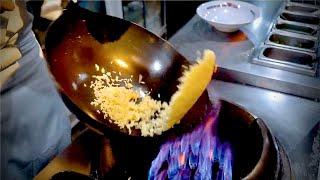 30sec cooking Fried rice Japan street food