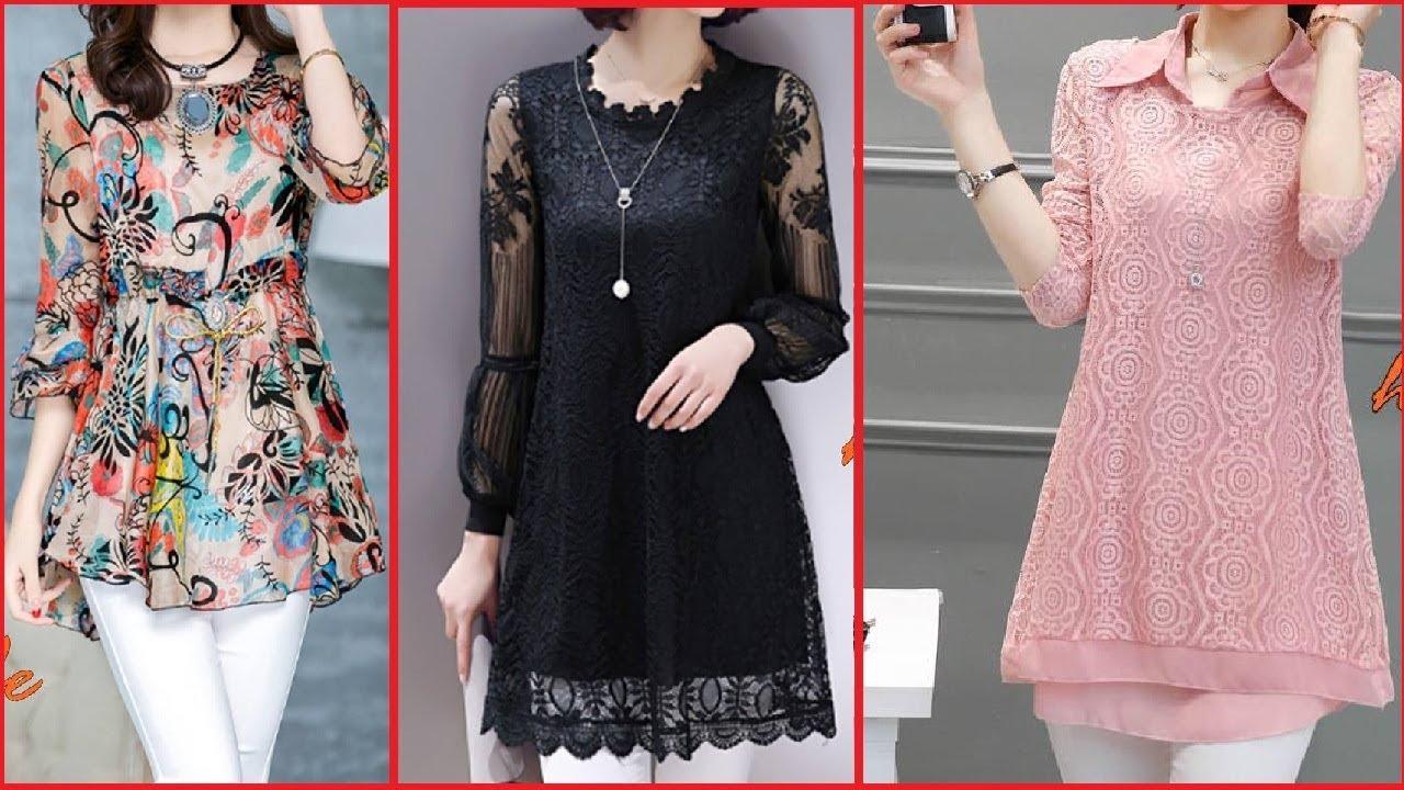 00a2b244aa3 Top Beautiful   Stylish Daily Wear Kurti Designs For Girls 2017 -18 ...