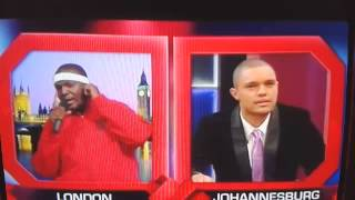 Trevor Noah And HHP On Benni MCcarthy Lol