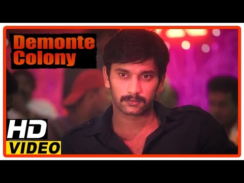 Demonte Colony Tamil Movie | Scenes | Arulnithi And Friends Drinks In A Bar