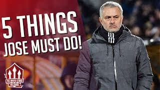 Mourinho's FIVE Man Utd Problems He Must Fix! FLEX & RANTS MUFC Talk